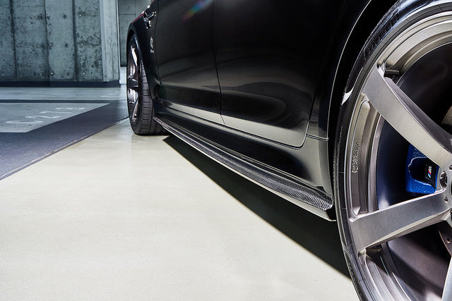 3d design f90 m5 carbon side skirt set - iND Distribution