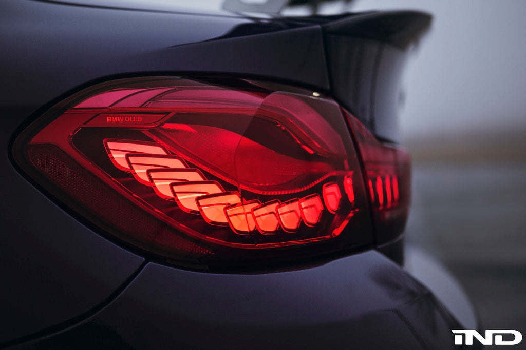 BMW OEM m4 gts oled euro tail light set - iND Distribution