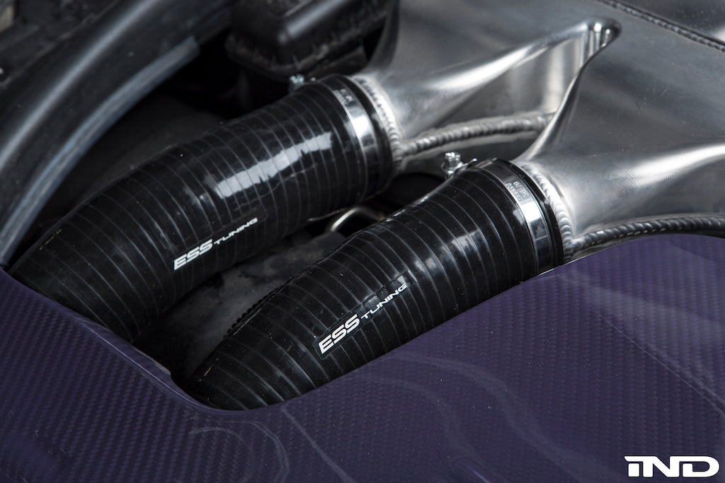 ESS Tuning F87 M2 Competition Charge Pipes 4