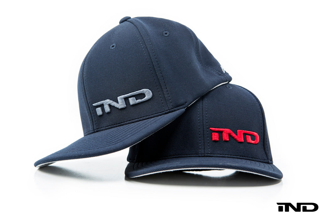 iND distribution 10 year anniversary fitted hat - iND Distribution