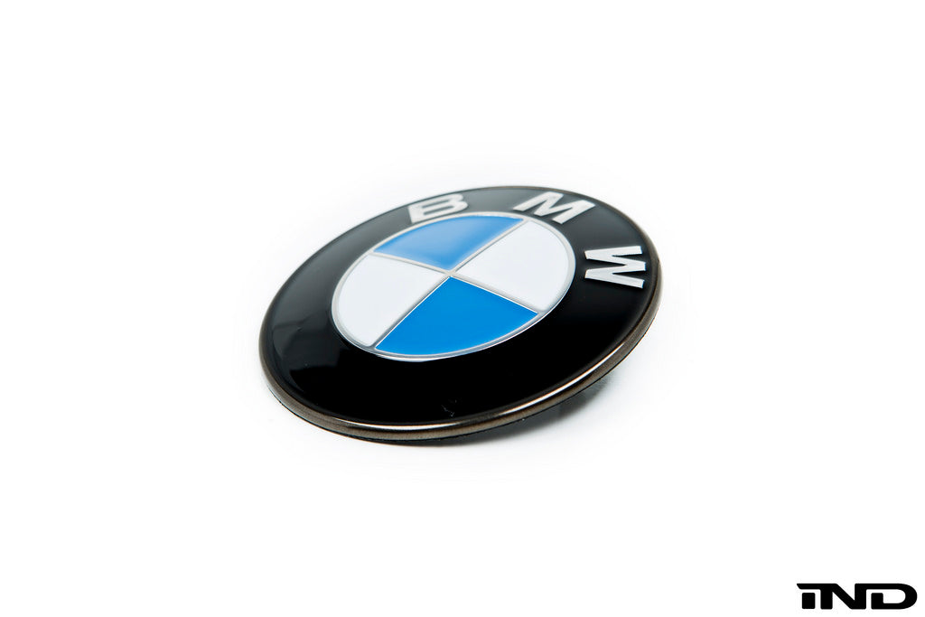 iND painted BMW trunk roundel 1 - iND Distribution