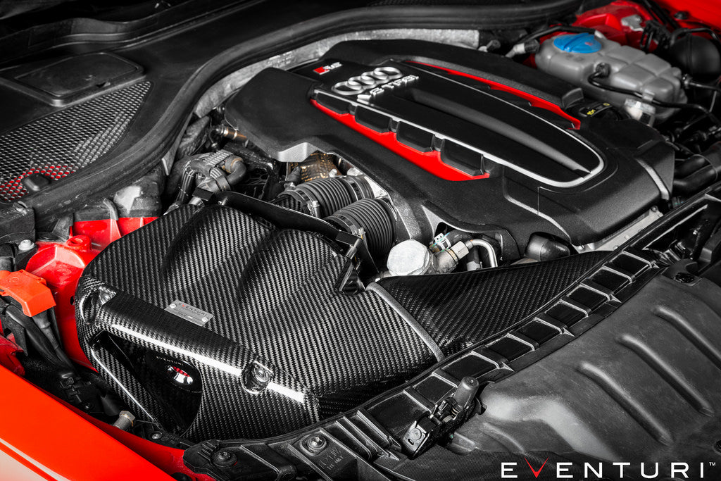 Eventuri c7 rs6 rs7 carbon fiber intake system - iND Distribution