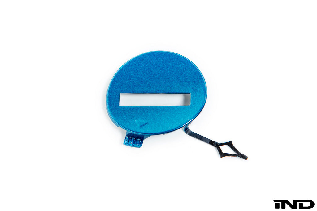 iND f87 m2 painted tow hook cover - iND Distribution