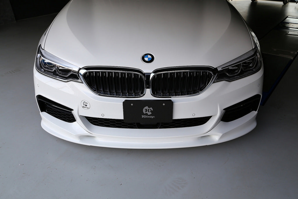 3D Design G30 5-Series Front Lip Spoiler  5