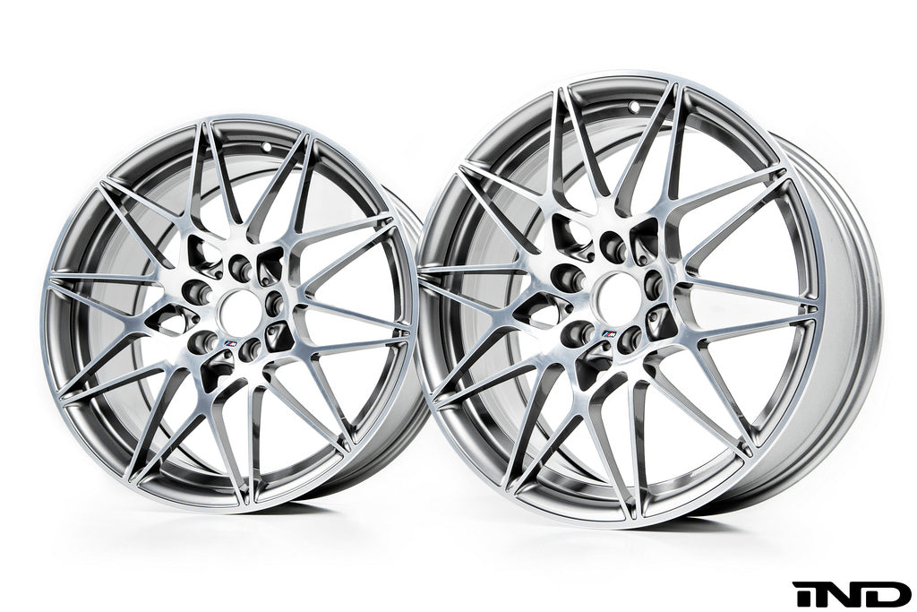 BMW OEM f8x m3 m4 style 666m competition package wheel set - iND Distribution