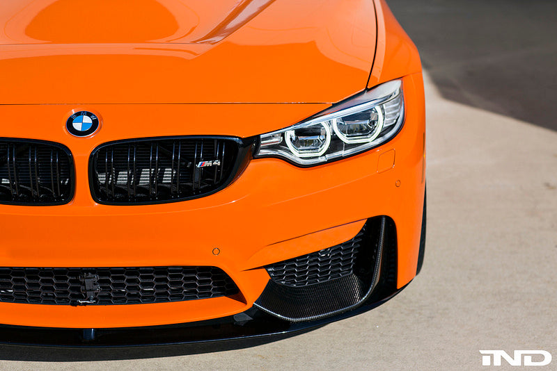 BMW M Performance - F8X M3 / M4 Carbon Front Splitters + Lower Lip Splitter 11