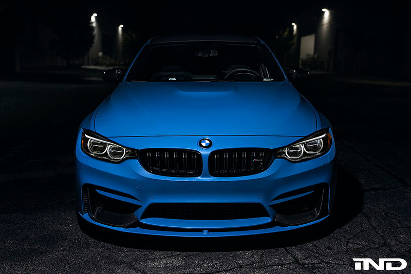 BMW M Performance - F8X M3 / M4 Carbon Front Splitters + Lower Lip Splitter 6