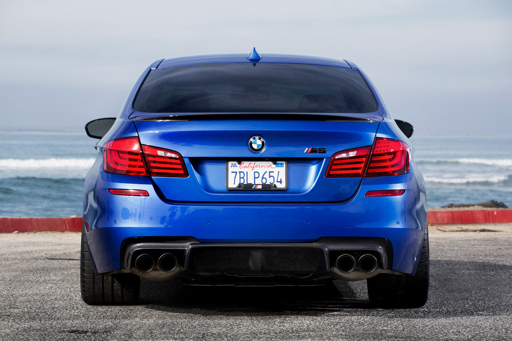 3D Design F10 M5 Carbon Fiber Rear Diffuser 4