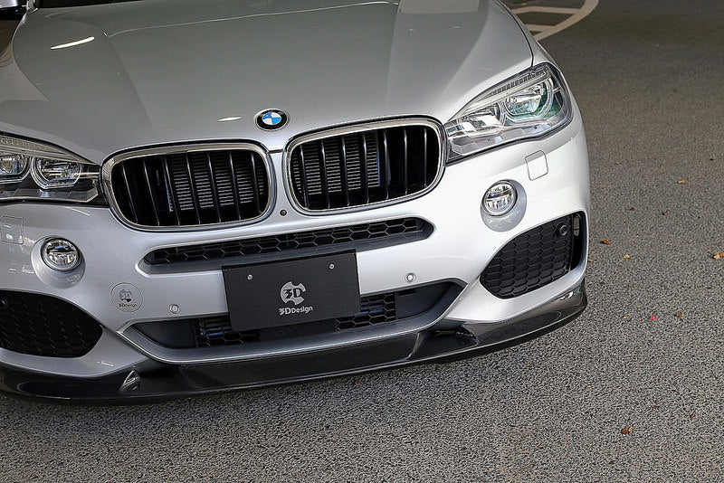 3d design f15 x5 m sport carbon fiber front lip - iND Distribution