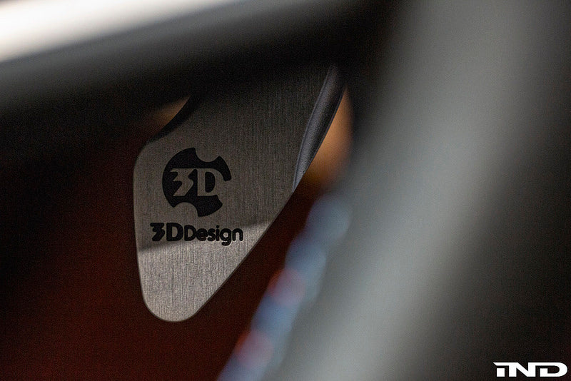 3d design g30 f90 billet aluminum dct paddle set - iND Distribution