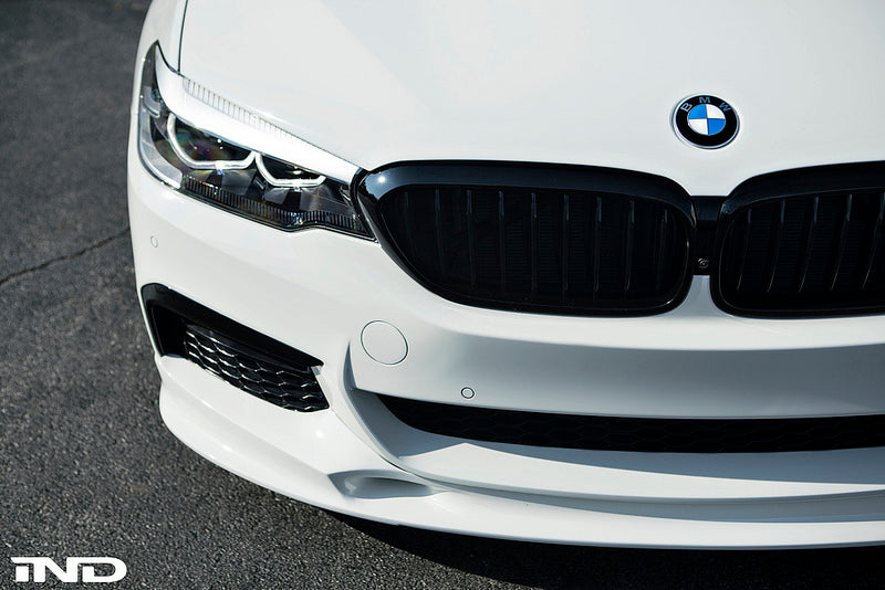 BMW M Performance G30 5-Series Black Front Grille Set 7