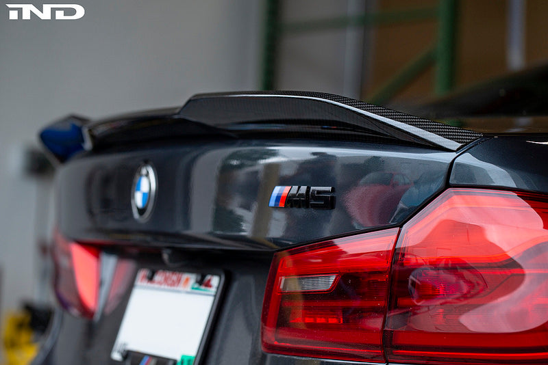 BMW f90 m5 m Performance pro carbon trunk spoiler - iND Distribution