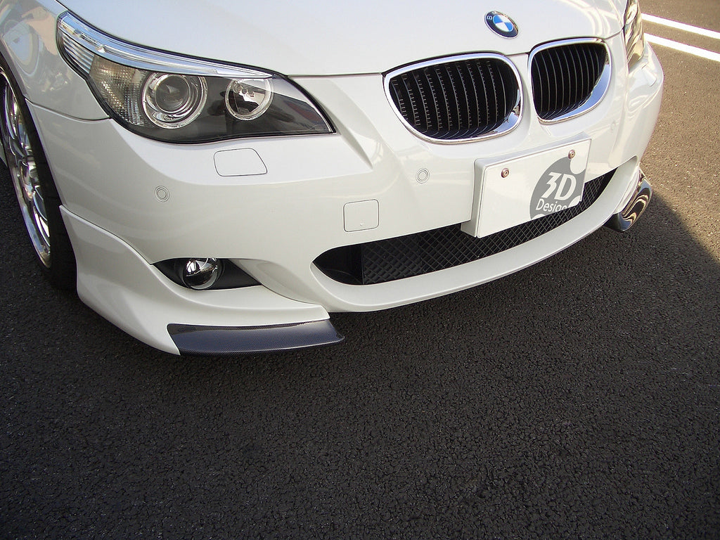 3D Design E60 / E61 5-Series M-Sport Front Splitter Set