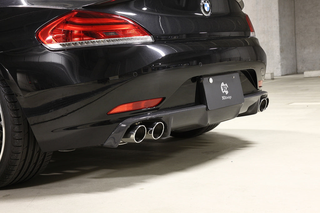 3d design e89 carbon fiber rear diffuser - iND Distribution