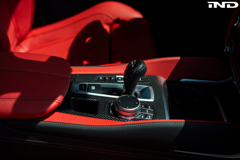 BMW Performance dct shift knob cover - iND Distribution