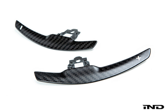 AutoTecknic Dry Carbon Fiber Shift Paddle Set 9