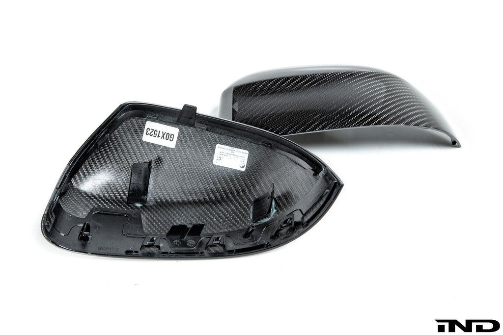 BMW m Performance g0x x3 x4 x5 x7 carbon mirror cover set - iND Distribution