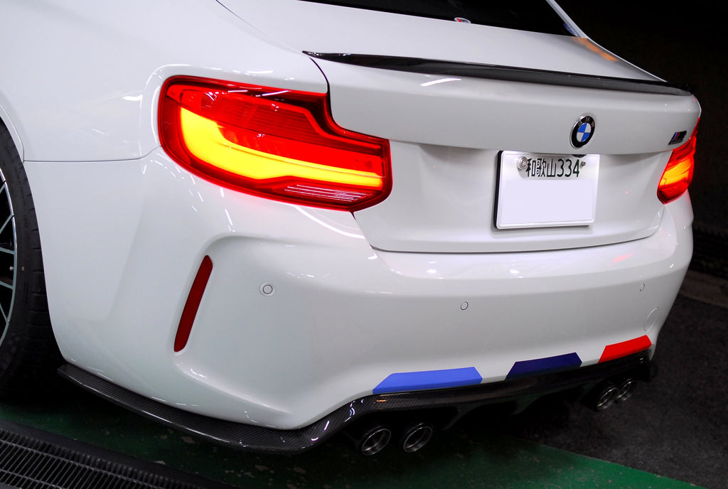 3d design f87 m2 carbon rear diffuser type 2 - iND Distribution
