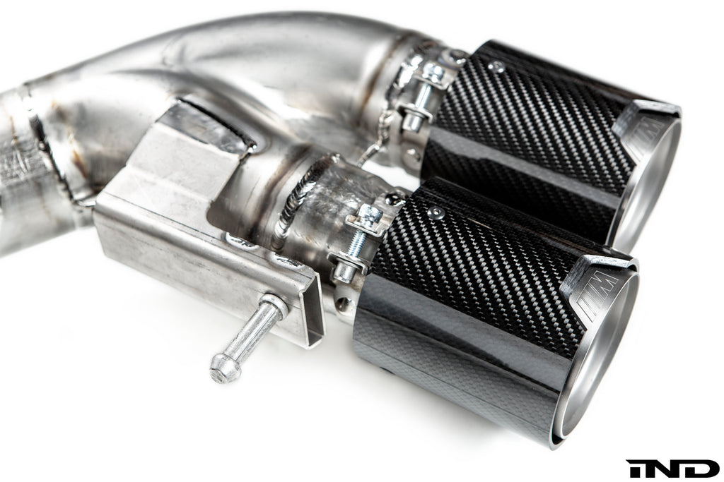 BMW f90 m5 m Performance titanium exhaust system - iND Distribution