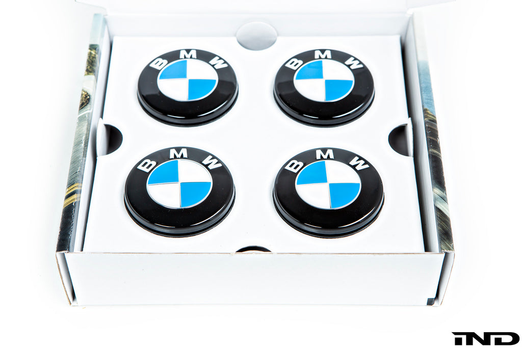 BMW floating wheel center cap set 72 6mm - iND Distribution