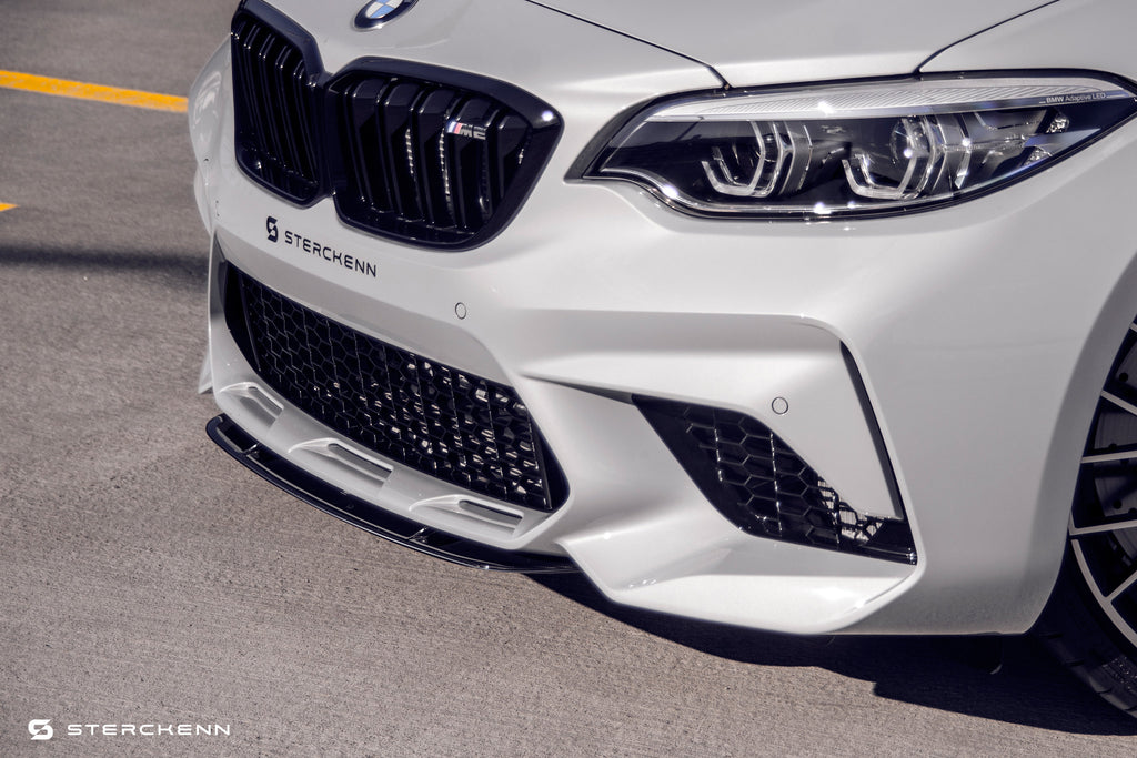 Sterckenn f87 m2 competition carbon front splitter - iND Distribution