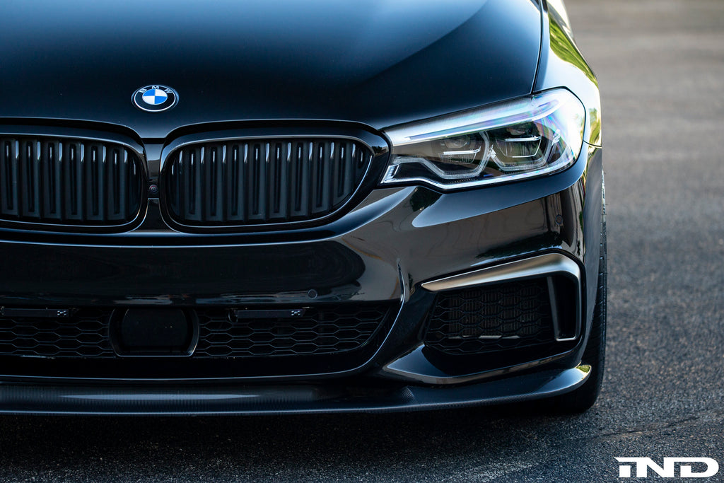 BMW M Performance G30 5-Series Black Front Grille Set