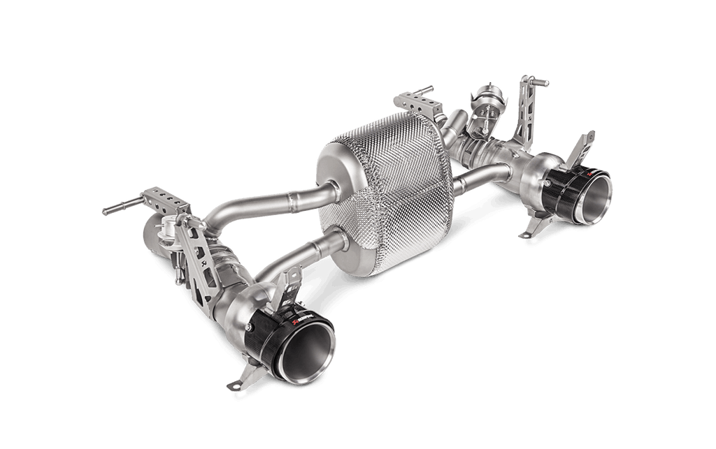 Akrapovic 488 gtb 488 spider exhaust - iND Distribution