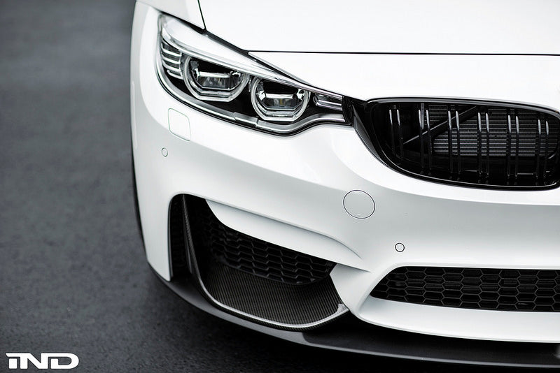BMW m Performance lower splitter replacement - iND Distribution