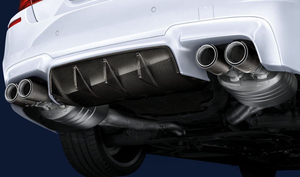 BMW M Performance F10 M5 Carbon Rear Diffuser  4