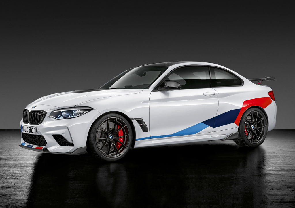 BMW m Performance f87 m2 carbon rear winglets - iND Distribution