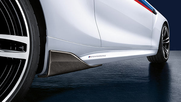 BMW M Performance F87 M2 Carbon Rear Winglets 1