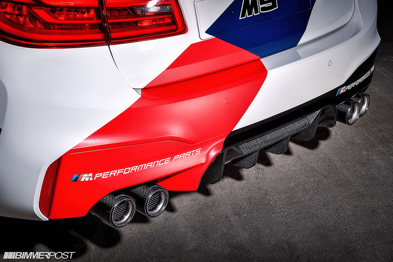 BMW F90 M5 M Performance Carbon Rear Diffuser 8