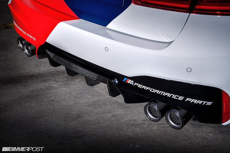 BMW F90 M5 M Performance Carbon Rear Diffuser 12