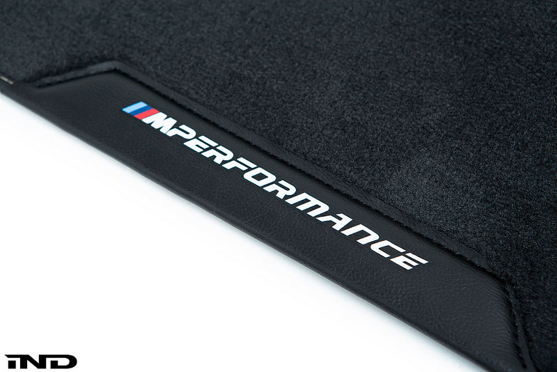BMW M Performance F90 M5 Floor Mat Set  7