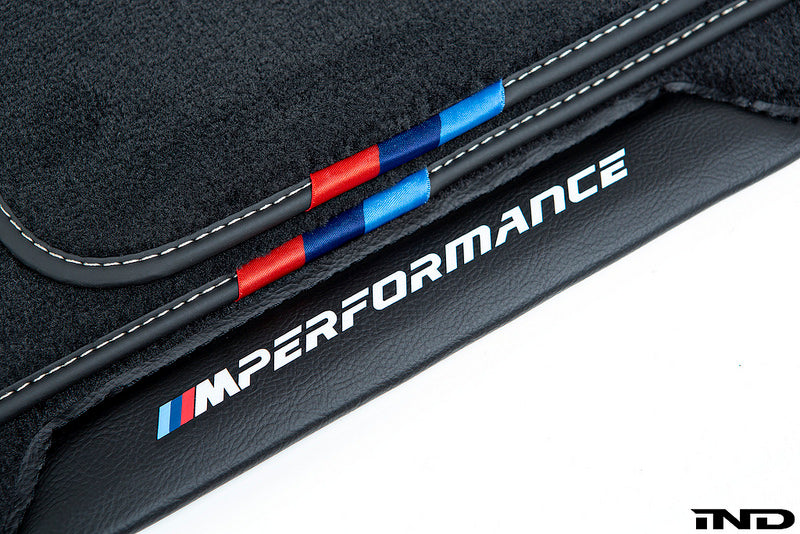 BMW M Performance F90 M5 Floor Mat Set  3