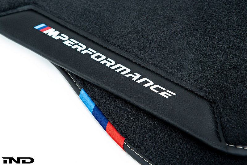 BMW M Performance F90 M5 Floor Mat Set  4