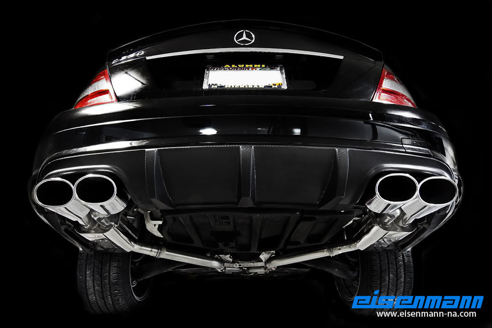 Eisenmann W204 C-Class Performance Exhaust 3