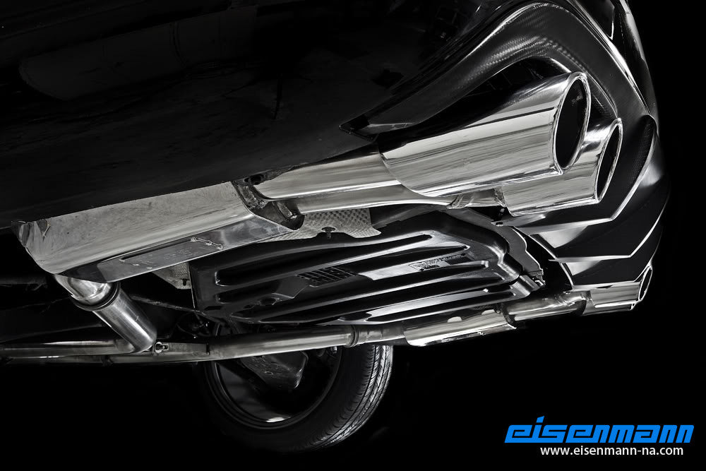 Eisenmann w204 facelift c class performance exhaust amg bumper - iND Distribution