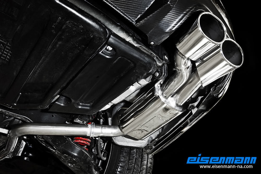 Eisenmann W204 C-Class Performance Exhaust 6
