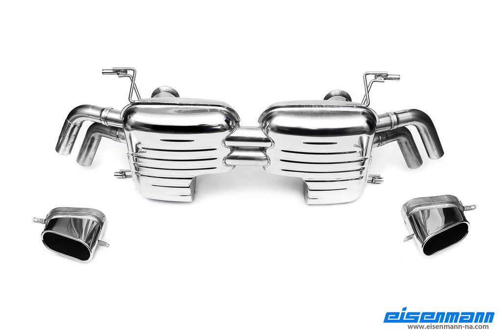 Eisenmann v8 fsi r8 performance exhaust 2011 and up - iND Distribution