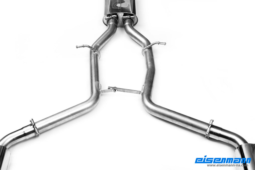 Eisenmann w204 c class performance exhaust amg bumper - iND Distribution