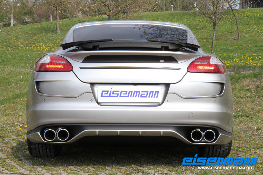 Eisenmann 970 panamera performance exhaust - iND Distribution