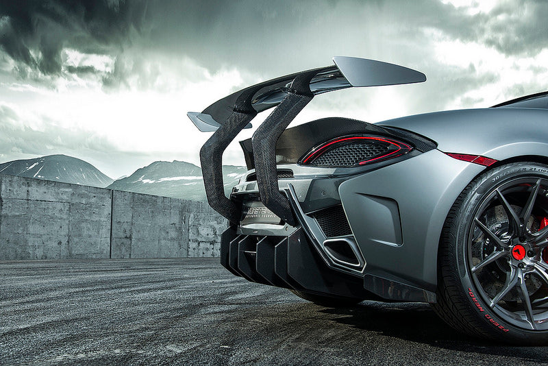 Vorsteiner 570S Carbon Rear Bumper with Diffuser 4