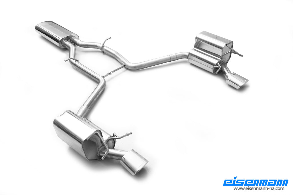 Eisenmann w204 facelift c class performance exhaust - iND Distribution