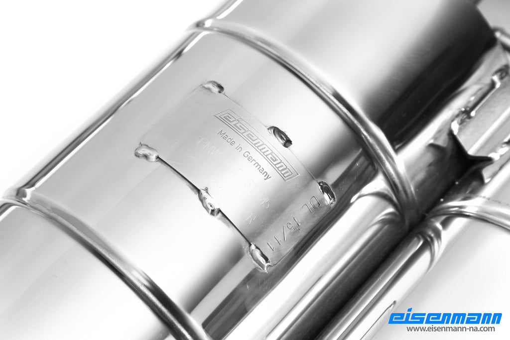 Eisenmann E60 M5 Performance Exhaust 7