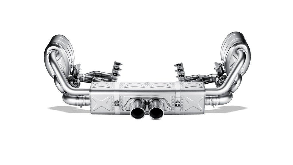 Akrapovic 997 911 gt3 rs 3 6 evolution race line w header w tips titanium - iND Distribution