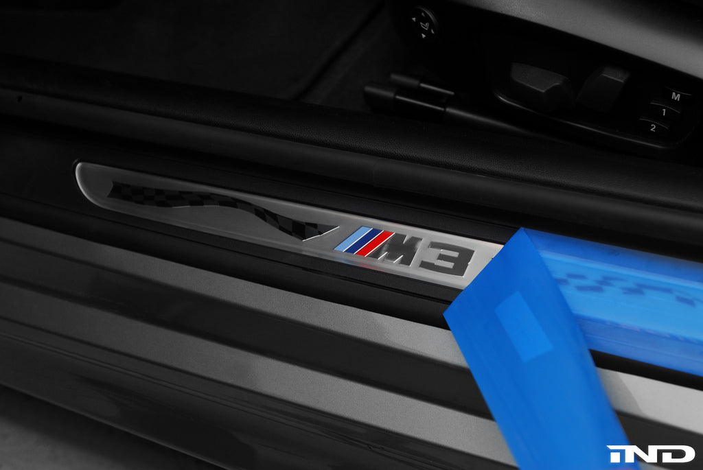 BMW OEM E92 M3 Competition Door Sill Set 5