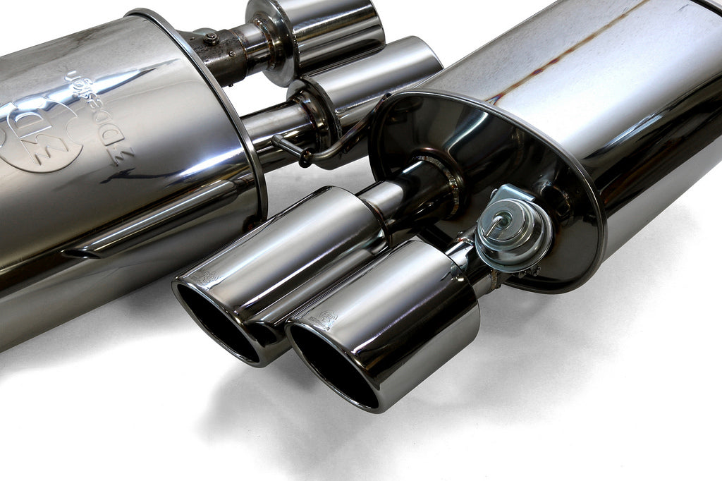 3D Design F10 M5 Exhaust System 10