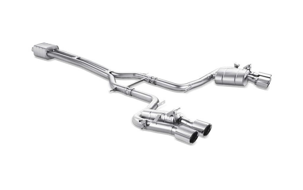 Akrapovic 970 panamera gts evolution exhaust system - iND Distribution