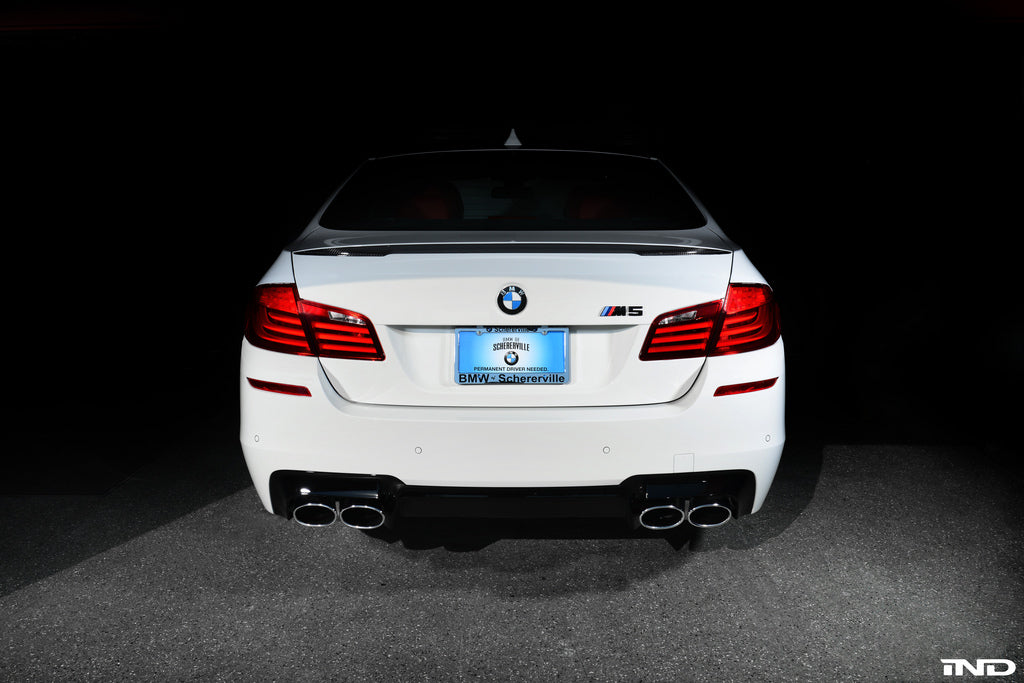 BMW Performance f10 trunk spoiler - iND Distribution